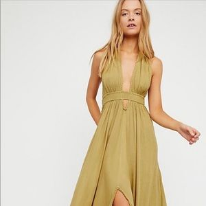 Look into the sun maxi NWOT